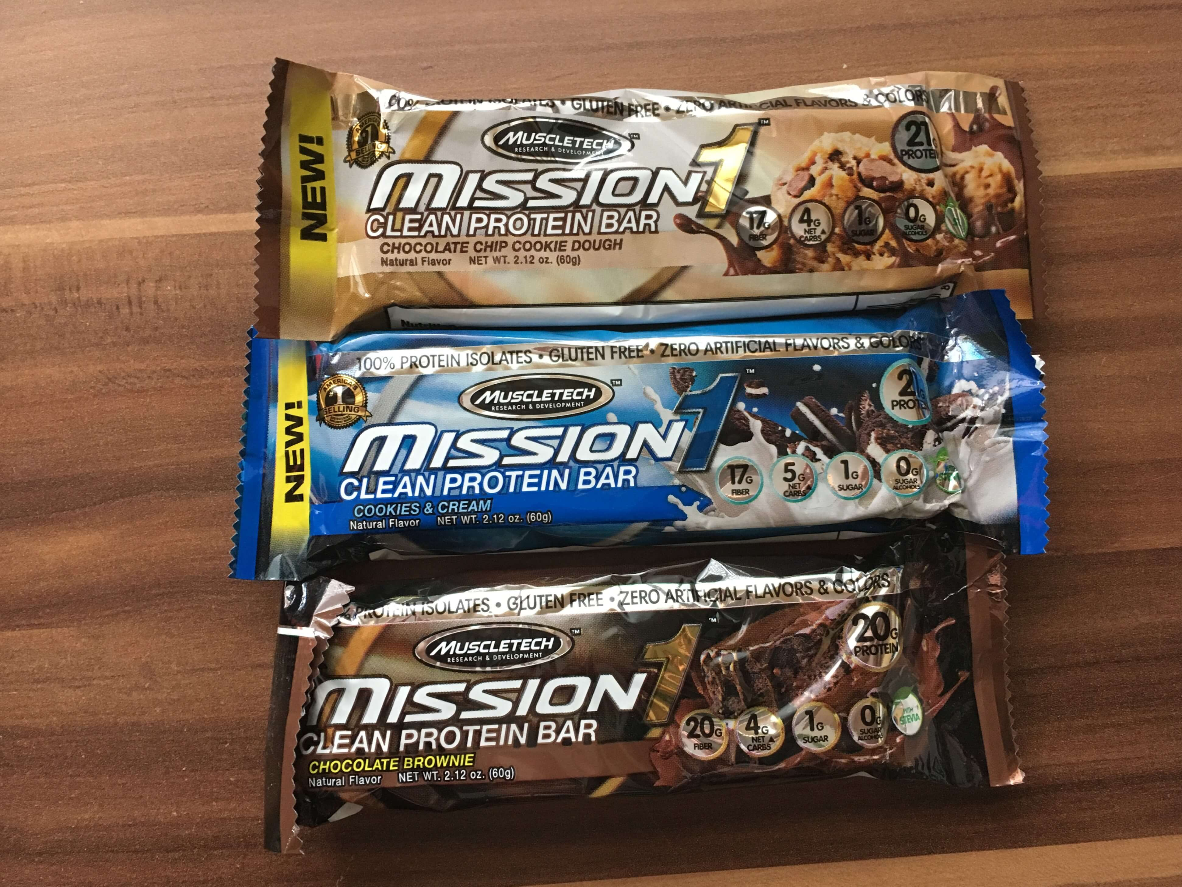 Muscletech Mission1 Clean Protein Bar (2)